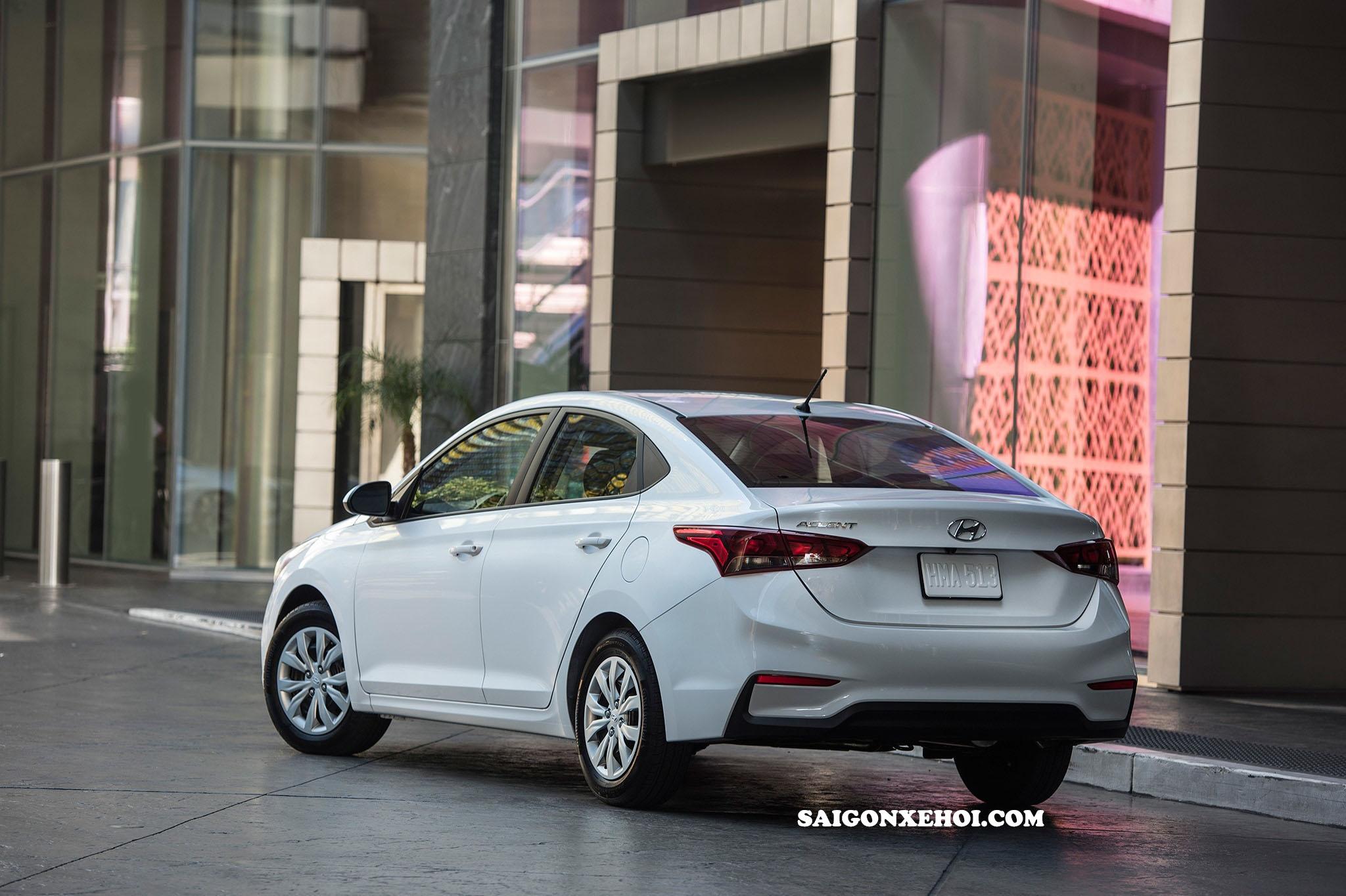 Xe Hyundai Accent 2020 màu trắng