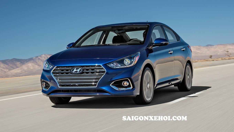 Hyundai Accent 2020 màu xanh