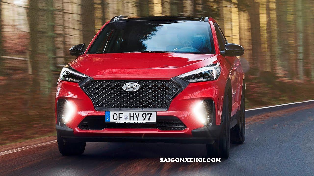 Đầu xe Hyundai Tucson 2020