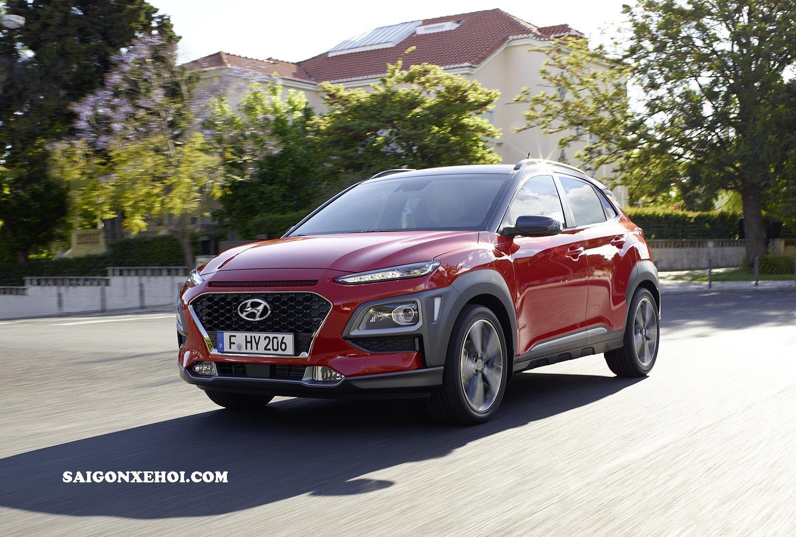 Ngoại thất Hyundai Kona 2020