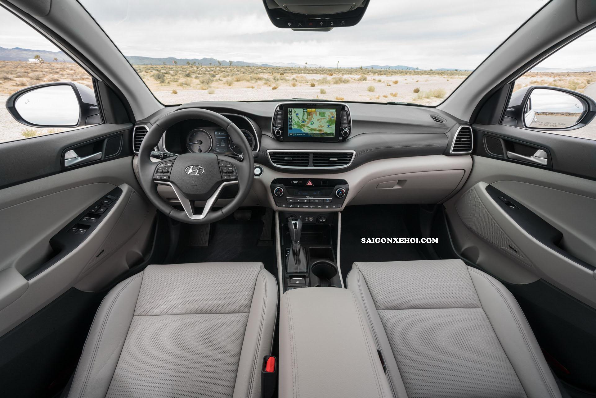 Nội thất noi that Hyundai Tucson 2020
