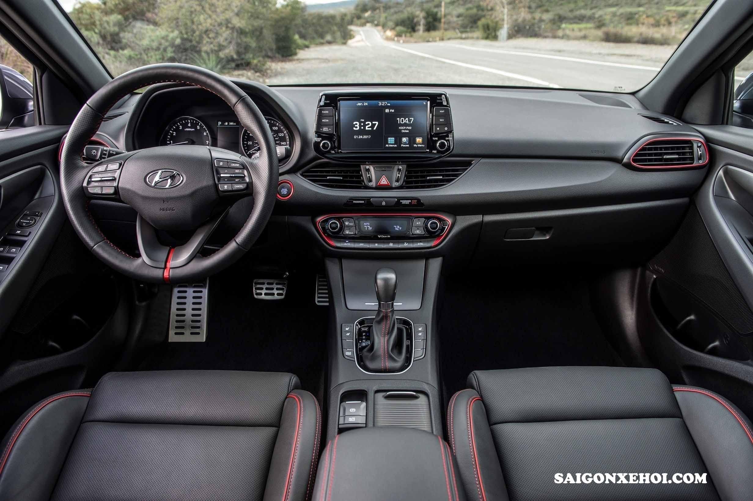 Nội thất Hyundai Elantra 2020 mới