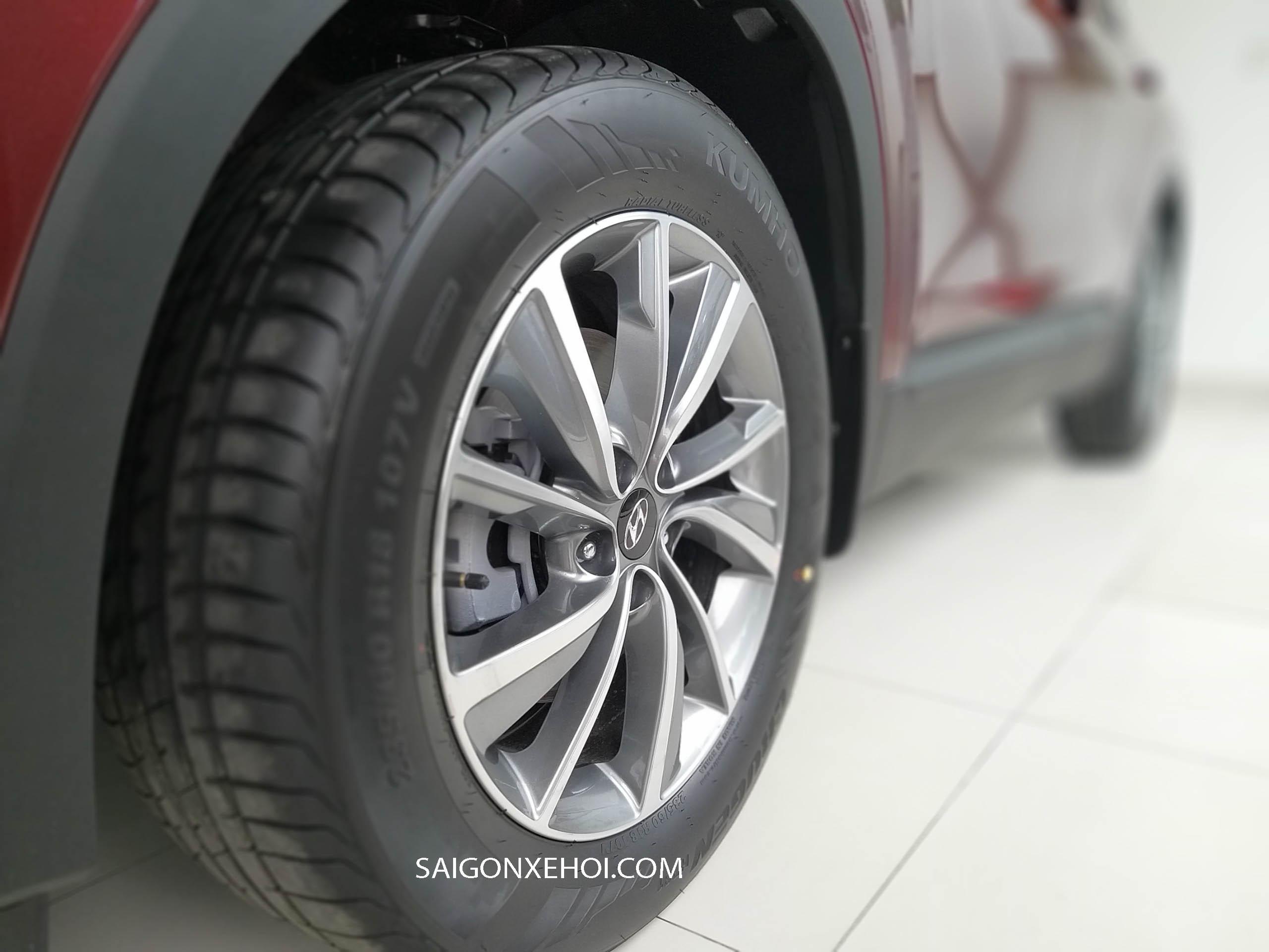 Bánh mâm xe Thân xe Hyundai Santafe 2020