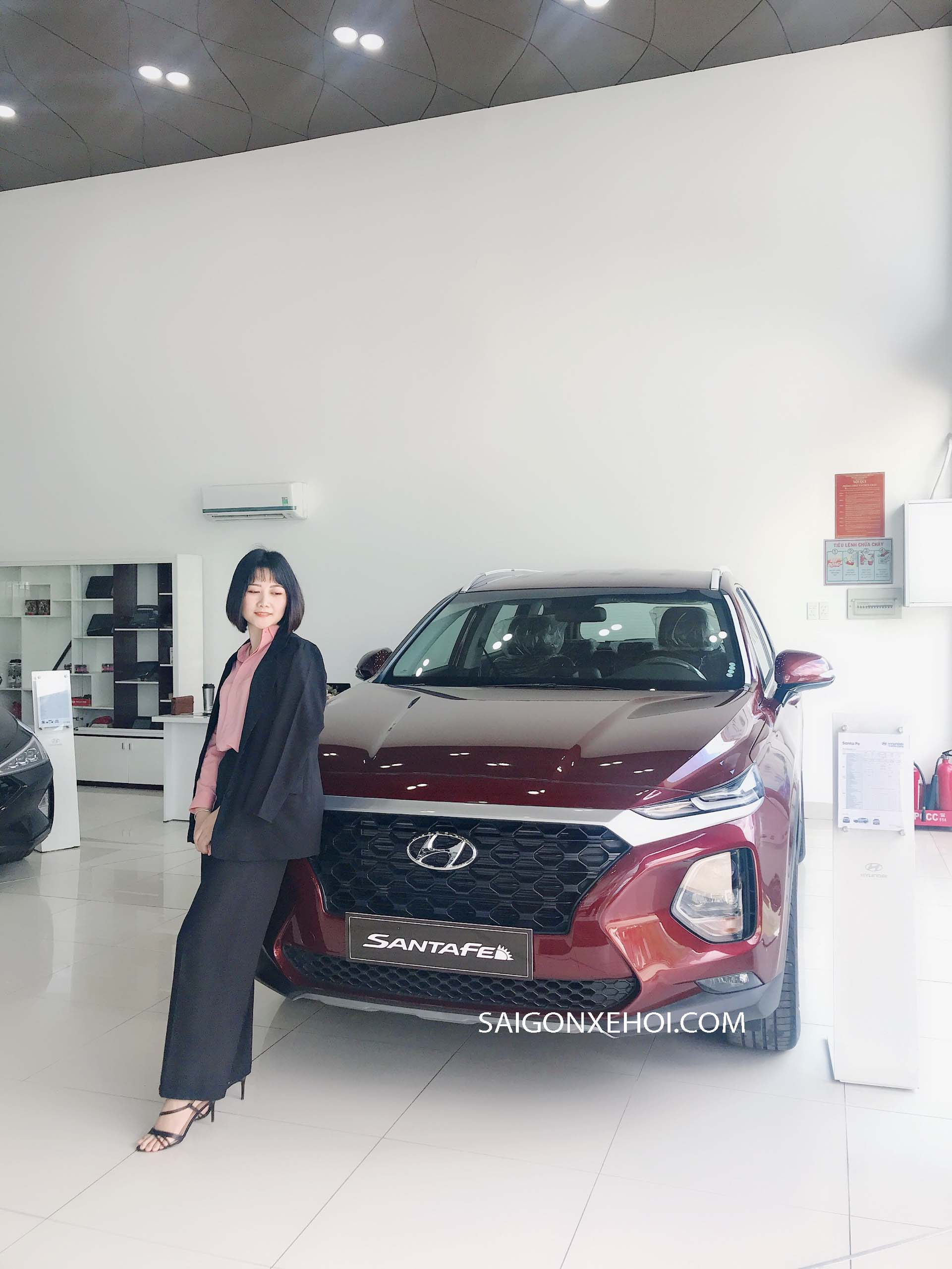 Đánh giá xe Hyundai Santafe 2020