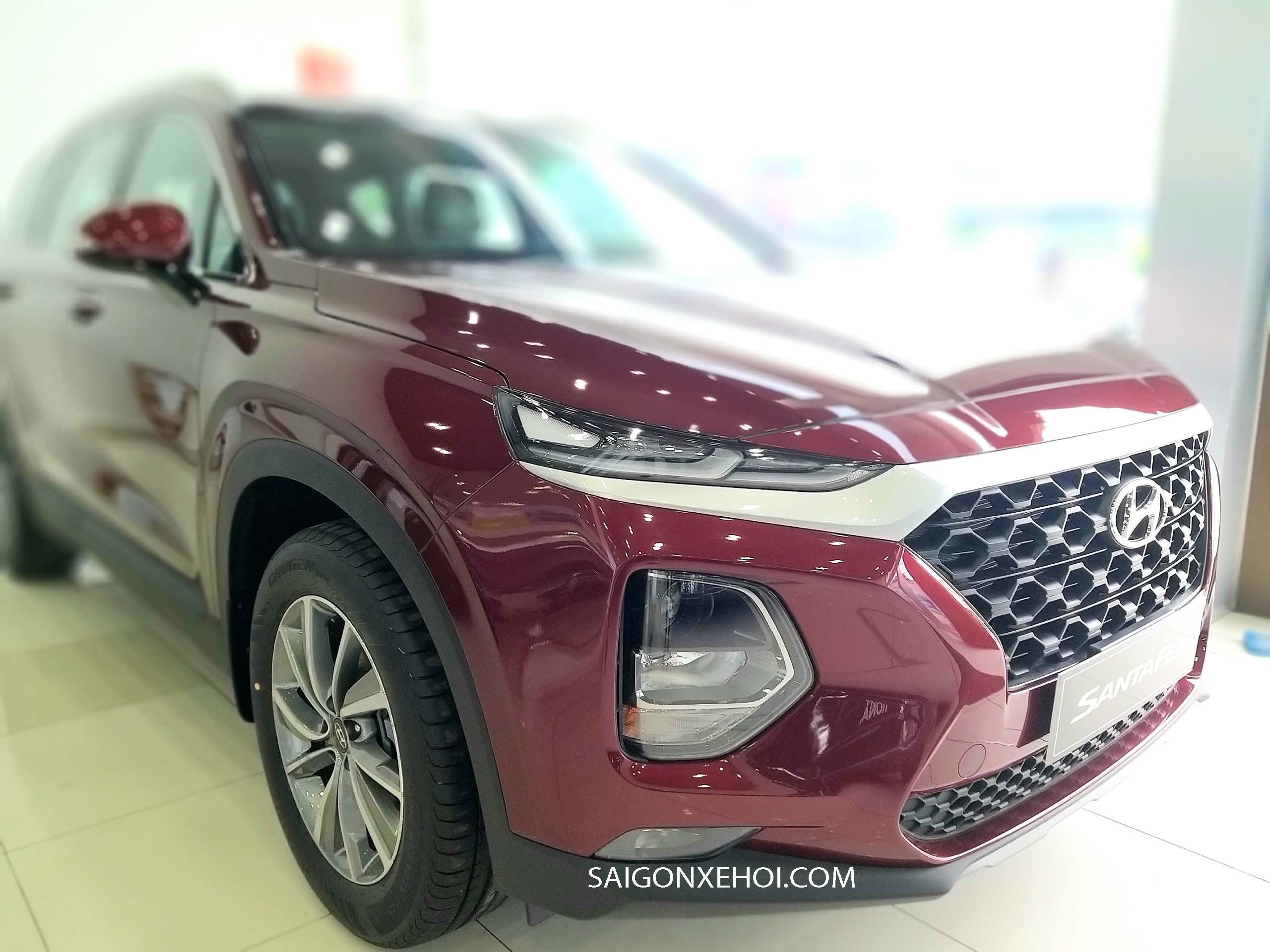 Thiết kế xe Thân xe Hyundai Santafe 2020