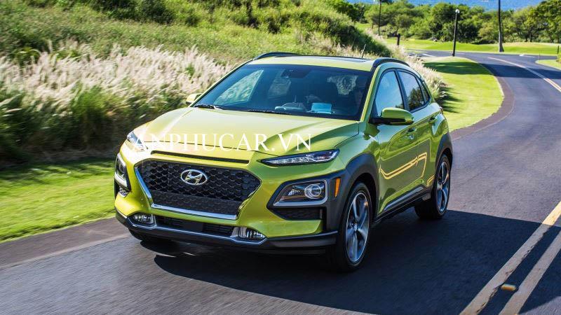 Hyundai Kona 1.6 Turbo 2020 giá lăn bánh