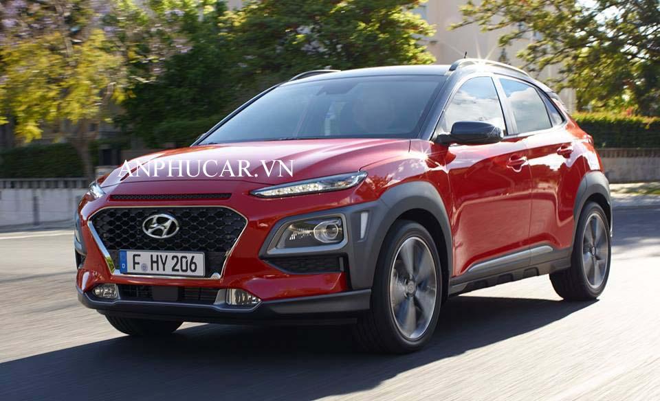 Giá lăn bánh Hyundai Kona 1.6 Turbo 2020