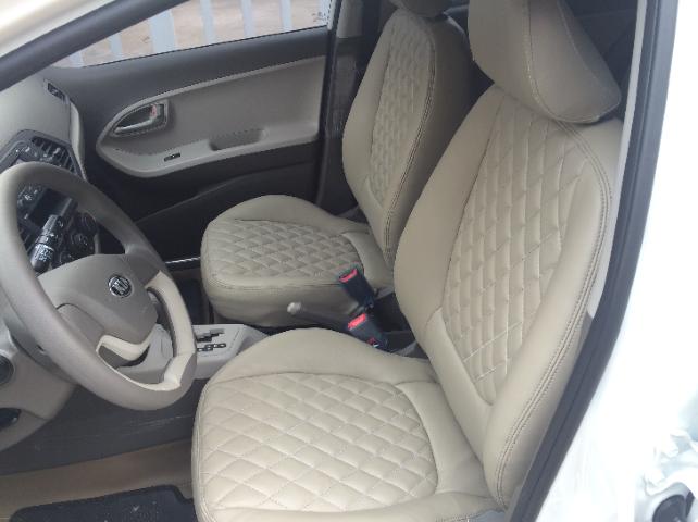 Bọc ghế da xe vios mau trang