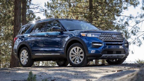 Ford Explorer 2020 dau xe