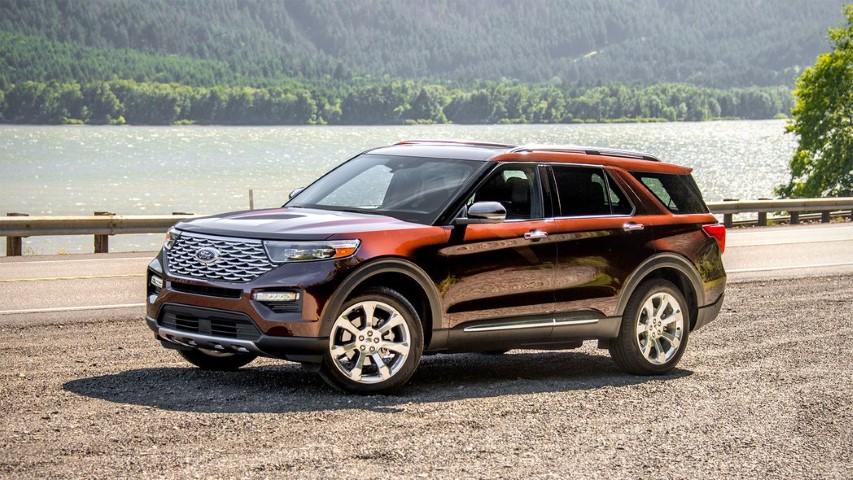 Ford Explorer 2020 hong xe
