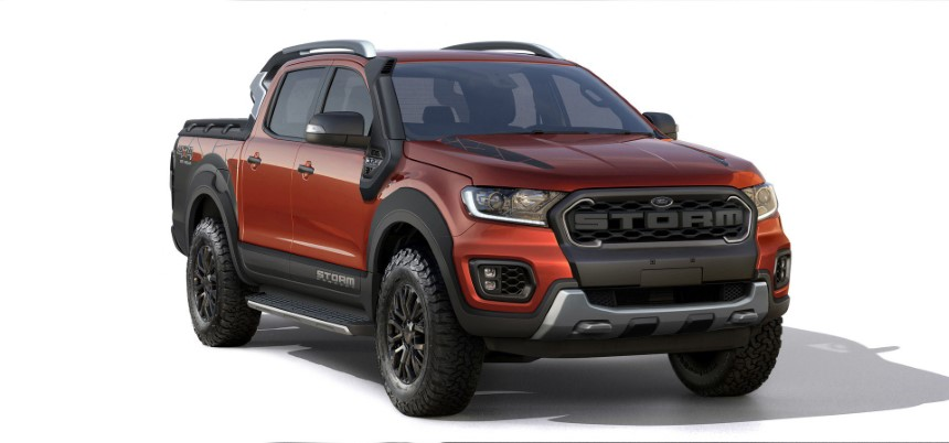 Ford Ranger ban storm