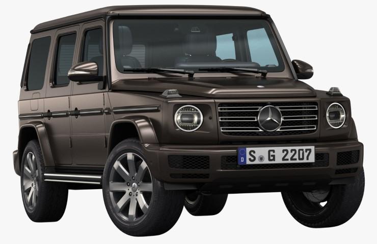 Mercedes - Benz G – Class den xe