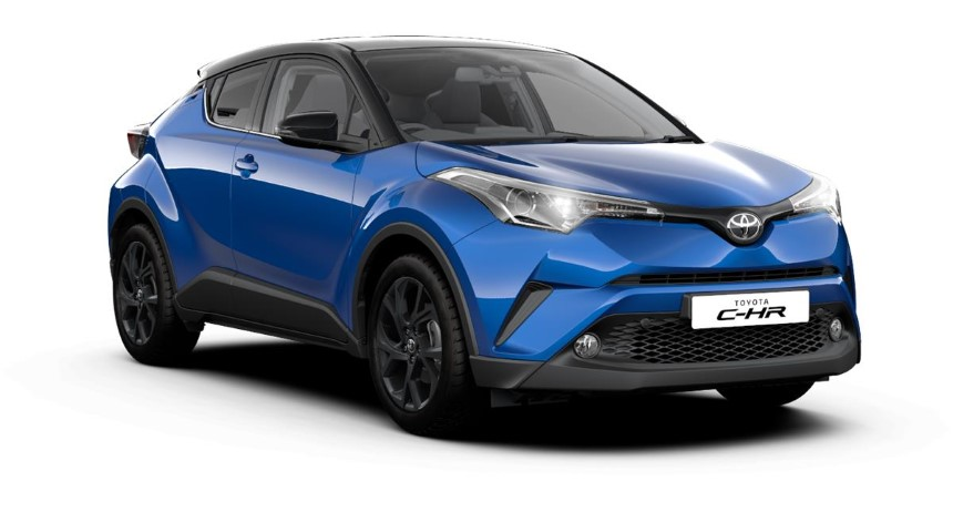 Toyota C-HR 2020 dau xe