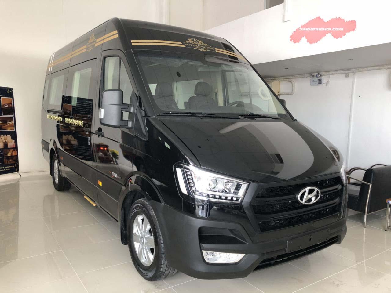 Ngoại hình Hyundai Solati Limousine 2020 hấp dẫn