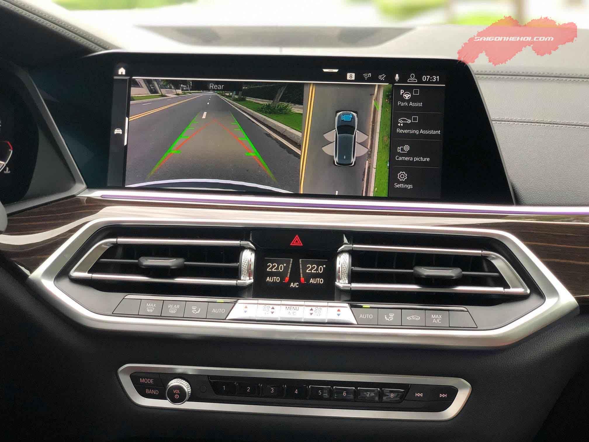 tiện nghi trên BMW X5 2020