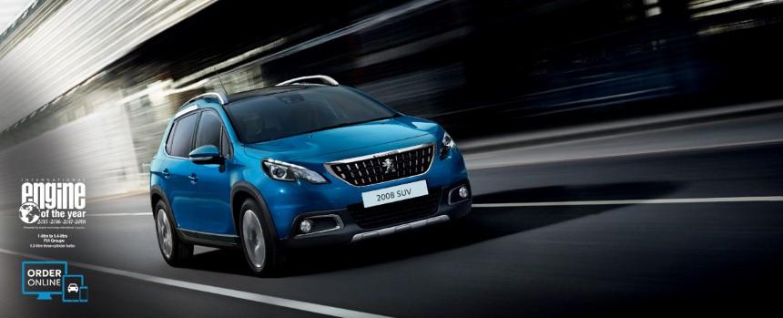Peugeot 2008 dau xe