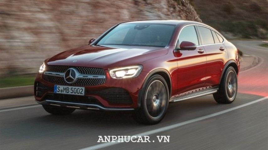Dau xe Mercedes Benz GLC Coupe 2020