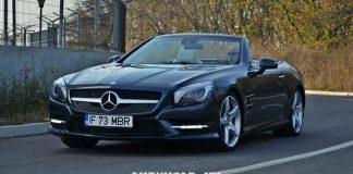 Gia lan banh Mercedes SL400 2020