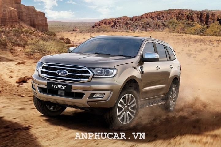Ban cao cap Ford Everest 2020 van hanh the nao