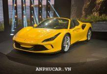 Ferrari F8 Spider 2020 khuyen mai mua xe