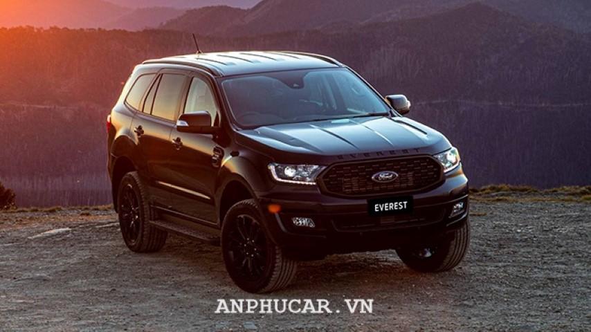 Ford Everest Sport 2020 trang bi xe