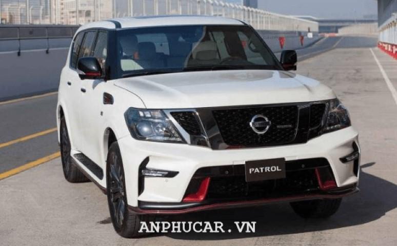 Nissan patrol 2020 tim hieu chi tiet