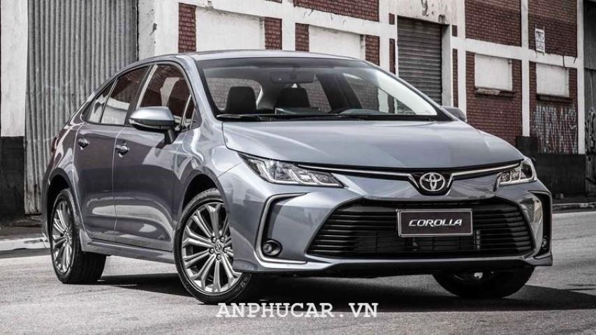 Toyota Corolla Altis 1.8E CVT 2020 gia xe