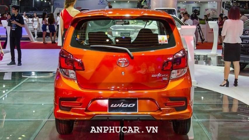 Toyota Wigo 4AT 2020 khuyen mai