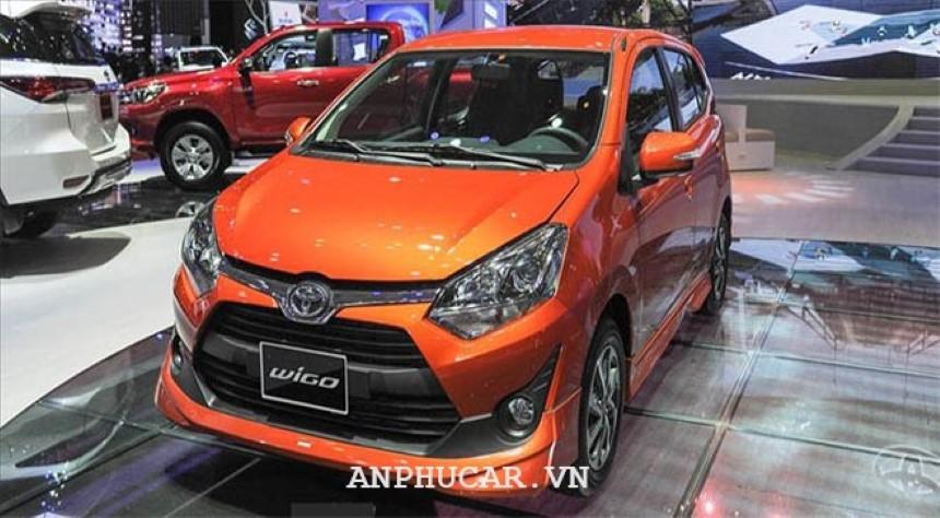 Toyota Wigo 4AT 2020 xe do thi kieu nho