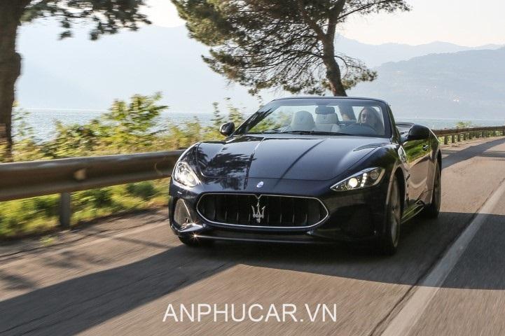 dau xe Maserati GranCabrio Sport 2020
