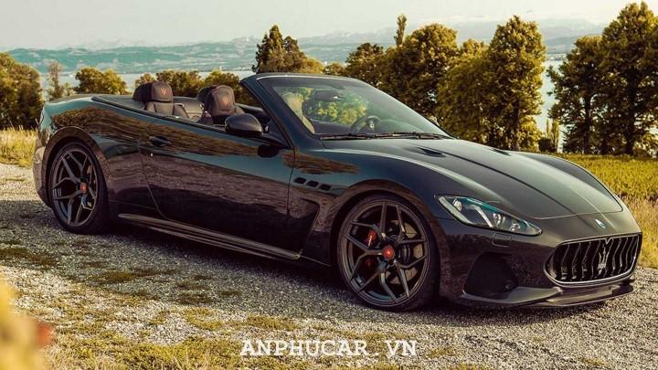 O to mui tran Maserati GranCabrio