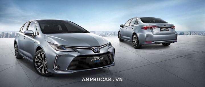 Toyota Corolla Altis 1.8E CVT 2020 danh gia chi tiet