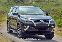 Toyota Fortuner 2.7AT 4×2 2020 uu dai hap dan
