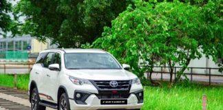 Toyota Fortuner TRD 2020 gia bao nhieu