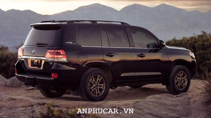 Toyota Land Cruiser 2020 thiet ke xe