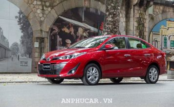 Toyota Vios 1.2L 2020 gia lan banh hap dan