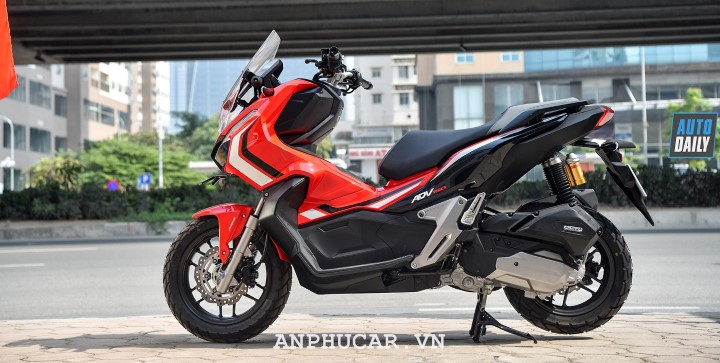 Honda ADV 150 2020 thiet ke tinh te