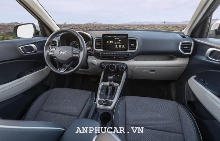 Hyundai Venue 2020 noi that sang trong