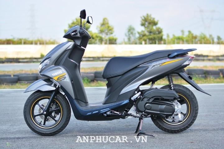 Yamaha FreeGo 2020 thiet ke dep mat an tuong